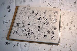 プレステのロゴデザイン案